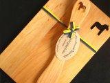ヘムスロイド Hemsloid/ウッドボード&ナイフ セット Wood Board & Knif Set/『ダーラヘスト』木製プレート