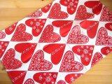 クリッパン Klippan/ ハートレッド Heart Red/キッチンタオル(クロス)