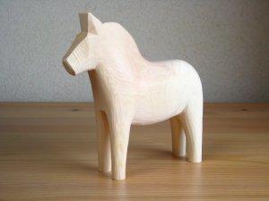 画像1: グラナス Grannas/ダーラナホース Dalahorse(17cm)/木製玩具