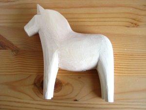 画像3: グラナス Grannas/ダーラナホース Dalahorse(17cm)/木製玩具