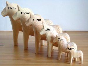 画像4: グラナス Grannas/ダーラナホース Dalahorse(13cm)/木製玩具