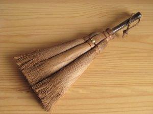 画像4: 和歌山・海南市・伝統手工芸品/棕櫚(シュロ)手ほうきMサイズ&Lサイズのセット/ほうき