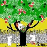 ムーミン Moomin Tribute Works/ パパの休日(イエロー)/ ハンカチ
