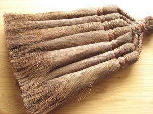 画像3: 和歌山・海南市・伝統手工芸品/棕櫚(シュロ)の長柄ほうき&手箒Lサイズ2点セット/ほうき