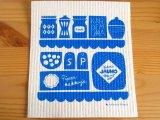 カウニステ Kauniste/ケイティオッサ Keittiossa(キッチン)ブルー/スポンジワイプ